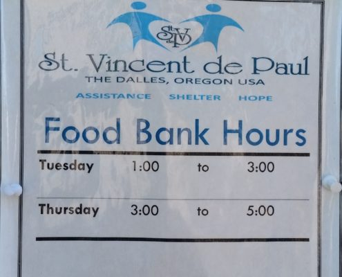 the dalles food bank